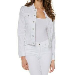 AG Robyn Denim Jacket White